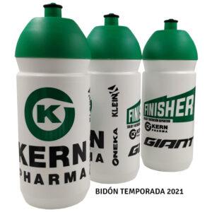 bidón de ciclismo Kern Pharma